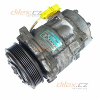 klima kompresor Sanden SD7V16 1240F 9646416780 Citroen Peugeot